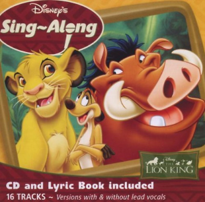 Various Artists-Disney's Sing-a-long - The Lion King CD NEW