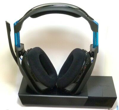 ASTRO Gaming A50 Wireless Dolby Gaming Headset - Black/Blue - PS4 + PC