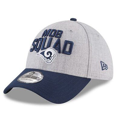 Los Angeles Rams New Era 2018 NFL Draft Official On-Stage 39THIRTY Flex Hat  - 75738c316