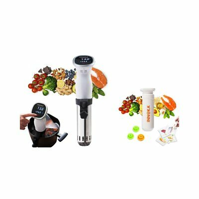 INNOKA 850W Stainless Steel Sous Vide Immersion Precision Cooker 850W with LED