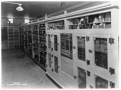Piggly Wiggly self-service grocery story,merchandise,shelves,Memphis,TN,c1918 1