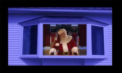 Video! Pro Fx Projector Kit Christmas Animated Virtual Window Decoration Outdoor