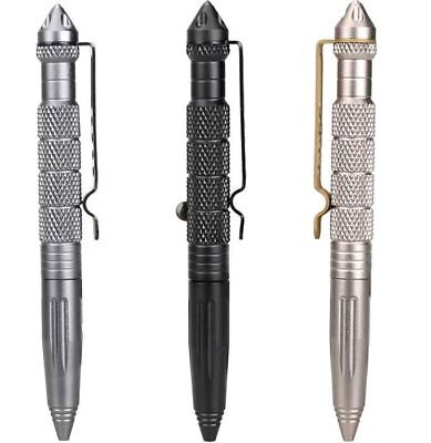 Steel Head Personal Safety Self Defense Tactical Pen Pencil With Tungsten Gift