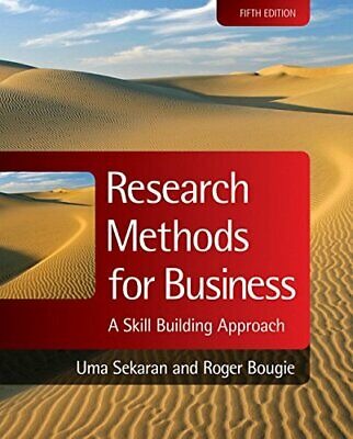 Research Methods for Business: A Skill Building Ap... by Bougie, Roger Paperback