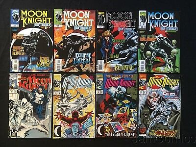 Moon Knight #1-4 Complete Set Marc Spector Moon Knight #38 41 47 51 8 Issue Lot