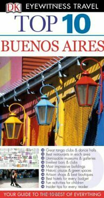 DK Eyewitness Top 10 Travel Guide: Buenos Aires by DK Travel Paperback Book The