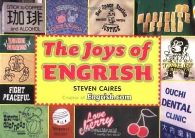 Joys of Engrish by Steve Caines Paperback Book The Cheap Fast Free Post