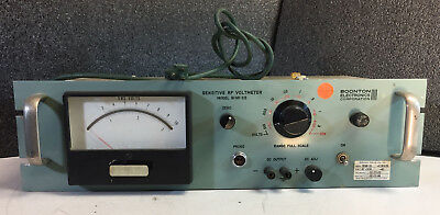 Boonton Electronics Corp Model  91HR-S5 Sensitive RF Voltmeter