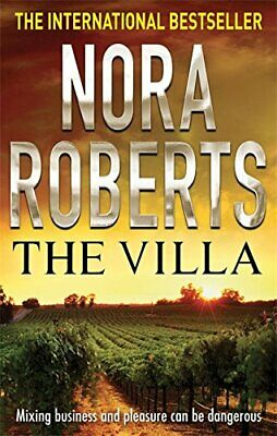 The Villa by Nora Roberts Paperback Book The Cheap Fast Free Post