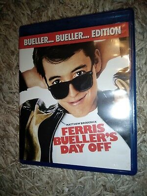 Ferris Bueller's Day Off (Blu-ray Disc, 2009, Bueller... Bueller... Edition) LN