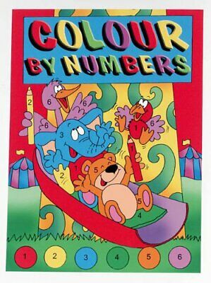 Colour By Numbers Book The Cheap Fast Free Post
