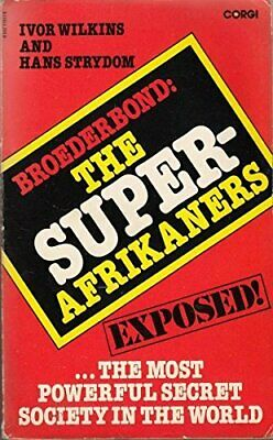 Broederbond: The Super Afrikaners by Strydom, Hans Paperback Book The Cheap Fast
