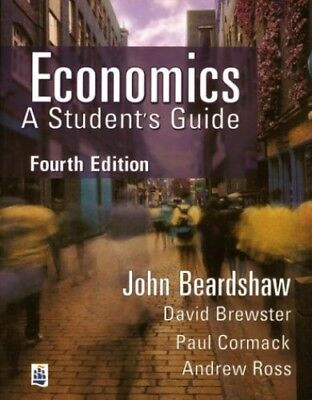 Economics: A Student's Guide by Brewster, Mr David Paperback Book The Cheap Fast