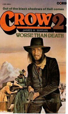 Worse Than Death (Crow) by Marvin, James W. Paperback Book The Cheap Fast Free