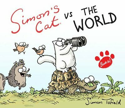 Simon's Cat vs. The World! by Tofield, Simon Book The Cheap Fast Free Post