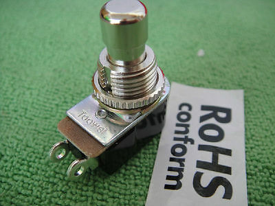 Momentary Metal Stomp Foot Switch N/O Normal Off 4 Guitar Effects Pedal 12mm
