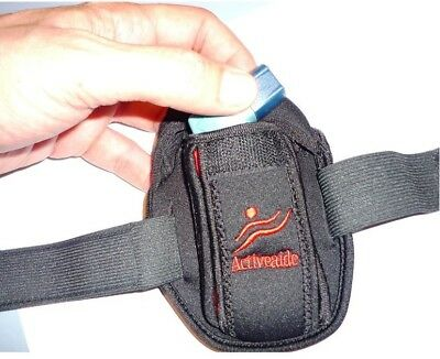 Active Inhaler = Asthma Sport Pouch / case / carry / holder - By Activeaide