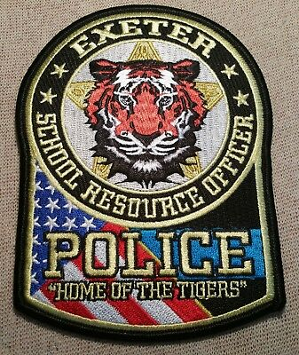 MO Exeter Missouri School Resources Officer Police Patch