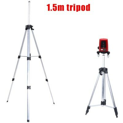 1M / 1.5M Adjustable Universal Metel Tripod Stand Extension Type For Laser Level
