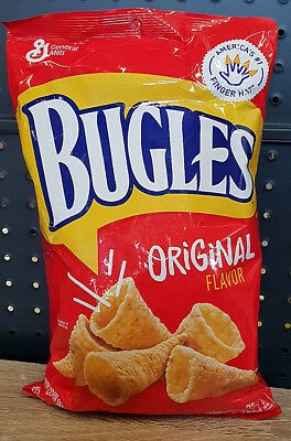 1 x Bugles Original Flavor Corn Snacks 212g- USA
