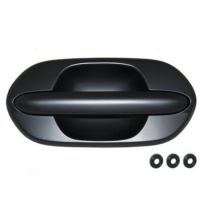Front Black Textured Exterior Outside Door Handle Passenger Side for Odyssey