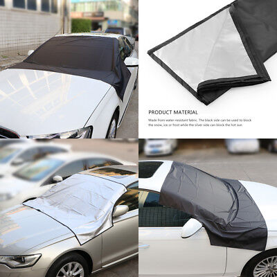 New Universal Magnetic Car Windscreen Anti Frost Ice Snow Protector Cover Shield