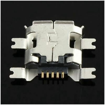 2X(10Pcs Micro-USB Type B Female 5Pin Socket 4 Legs SMT SMD Soldering Conn O8T6)