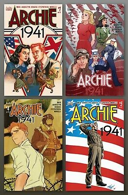 ARCHIE 1941 #1 Cover D Variant Dave Johnson Cover NM – ARCHIE COMICS 2018