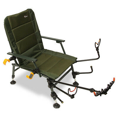 Feeder Fishing Chair Arm Accessories Pack With Rod Rests Pole Rest Fishing Set