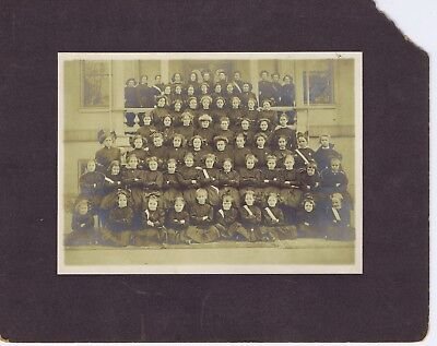 Sacred Heart Convent students cabinet photograph St. Joseph Missouri early 1900s