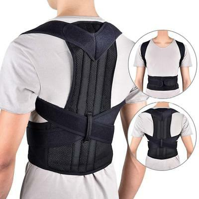 Adult Body Back Fixed Posture Hunchback Correction Brace Belt Adjustable Hot
