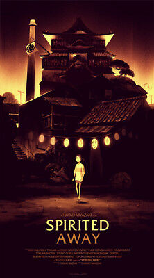 Spirited away by Olly Moss - Regular - Rare Sold out Mondo print