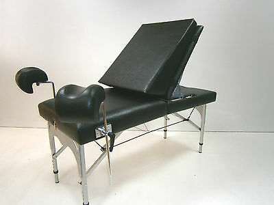 Gyn Chair, Foldable and Portable, Portable Gynecological Chair Adjustable Height