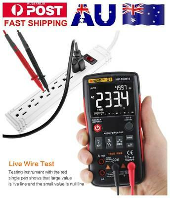 ANENG Q1 True-RMS Digital Multimeter Button 9999 Counts with Analog Bar Graph DA