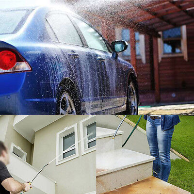 High Pressure Power Car Washer Spray Nozzle Hose Wand Attachment Hydro Water KA