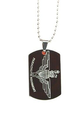 Parachute Regiment Army Uk Personalised Dog Tag Gift Engraved With Any Name & No