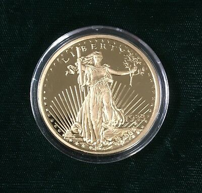 National Collector's Mint 1933 Gold Plate Double Eagle Proof Reproduction Copy