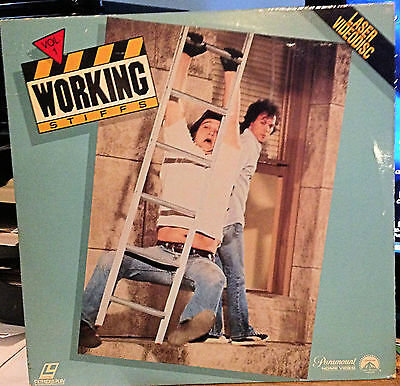 Working Stiffs Volume 1 Rare Laserdisc  Not On Dvd! Belushi & Keaton