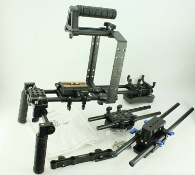 Filmcity FC-57 Camera Shoulder Rig with extras DSLR Video Steady Stabaliser