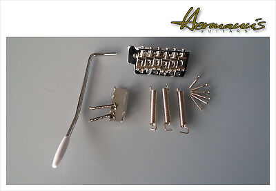 Vintage Stratocaster Tremolo Bridge, Steel Saddles, 52,5mm Screw Spacing