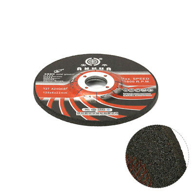 5Pcs 125x22x6mm Resin Cutting Wheel Disc For Cut Grinding Metal Angle Grinder