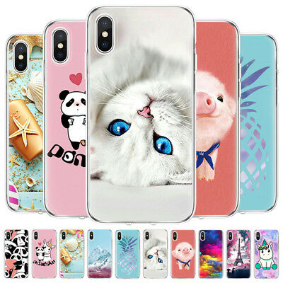 Ultra Thin Soft Rubber Silicon TPU Case Cover For iPhone XS Max/XR X/XS 7/8 Plus