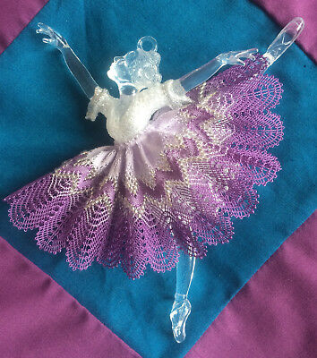 Torchon Lilac Ballerina Kit - Original Design by Harlequin Lace