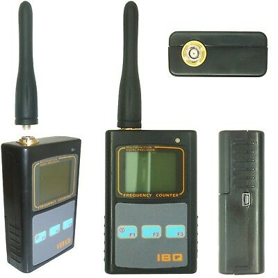 IBQ101 2.6gHz Mini Handheld Frequency Counter Detector & Signal Strength Display