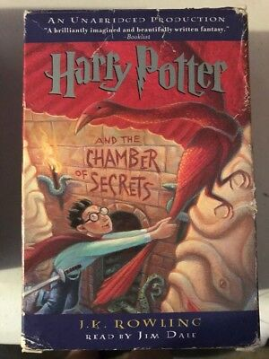 Harry Potter And The Chamber Of Secrets Audiobook - Unabridged on 6 Cassettes