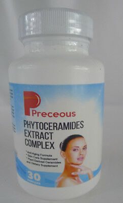 Preceous Phytoceramides Extract Complex Anti-Aging Skin Care 30 Capsules 2/2019