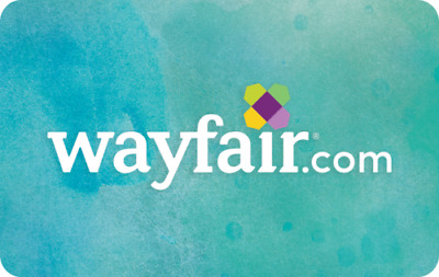 $25 / $50 / $100 / $250 Wayfair Physical Gift Card - FREE 1st Class Delivery