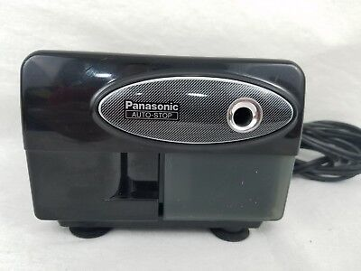 Panasonic KP-310 Black Electric Pencil Sharpener Auto Stop