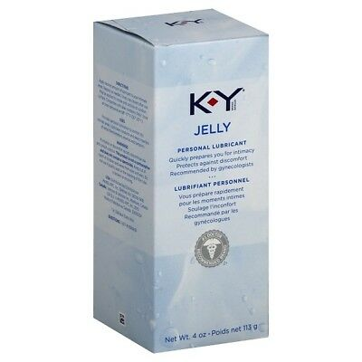 K-Y Jelly 4oz - Water-Based Personal Lubricant Lube