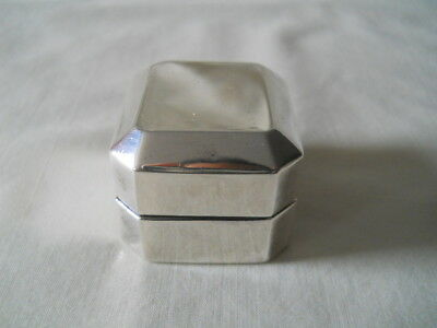Birks Sterling Ring Box